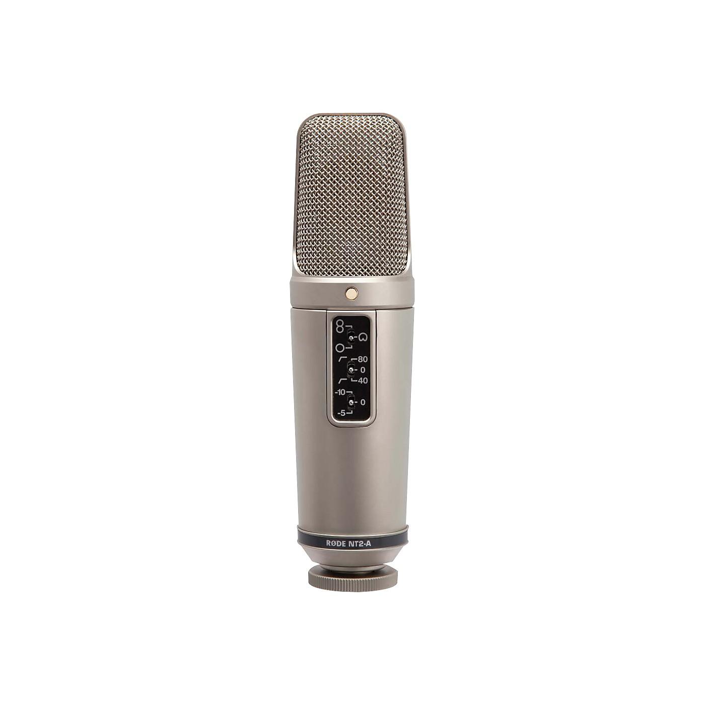 Rode NT2-A Studio Condenser Microphone Bundle thumbnail
