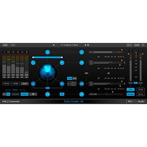 NuGen Audio NUGEN Halo Downmix with 3D Immersive Ext. thumbnail