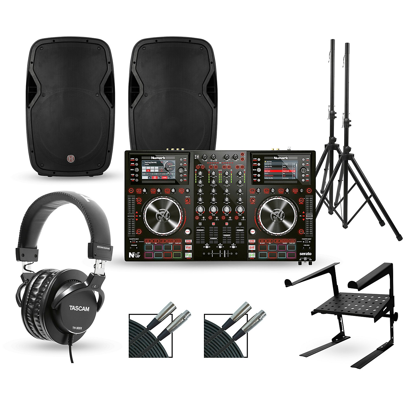 Numark NV MKII with Harbinger V1015 DJ Package thumbnail