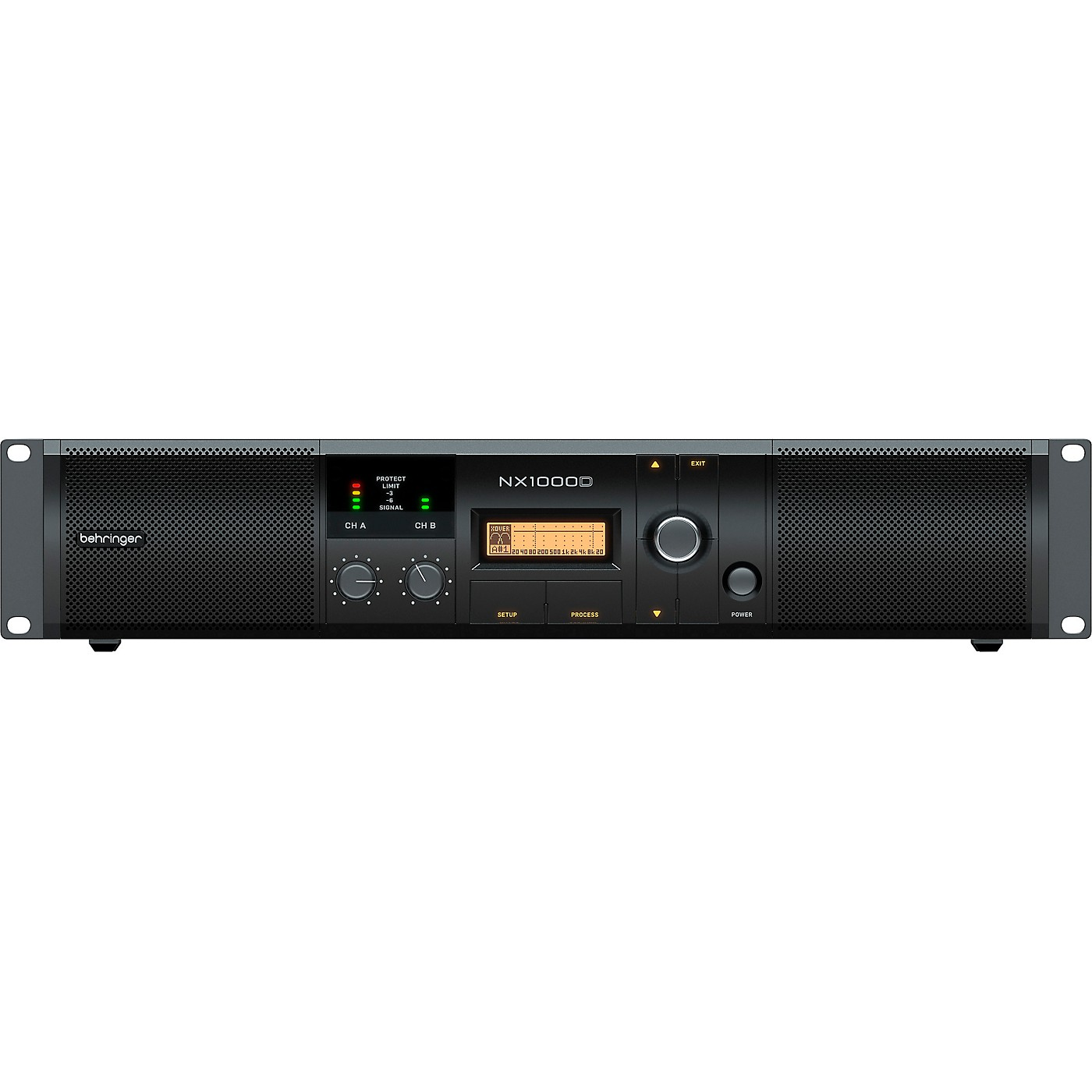 Behringer NX1000D Power Amplifier with DSP thumbnail