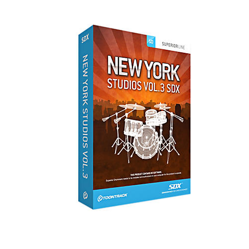 Toontrack NY Studios Vol 3 SDX thumbnail