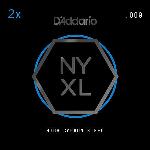 D'Addario NYPL009 Plain Steel Guitar Strings 2-Pack, .009 thumbnail