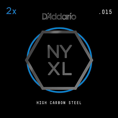 D'Addario NYXL Plain Steels (2-Pack) thumbnail