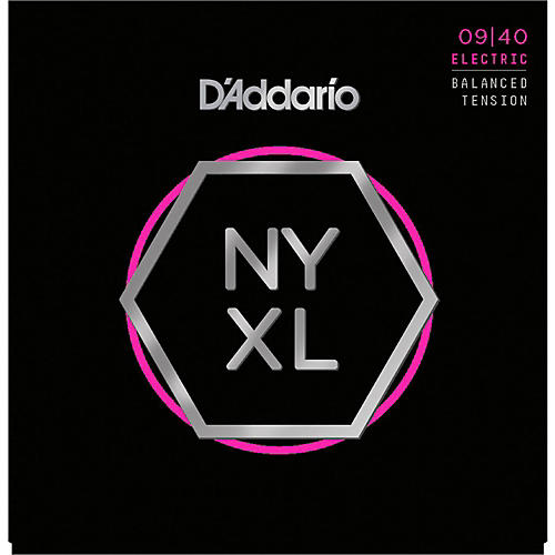 D'Addario NYXL0940BT Super Light Balanced Tension Electric Guitar Strings thumbnail