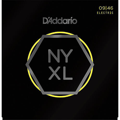 D'Addario NYXL0946 Super Light Top/Regular Bottom Electric Guitar Strings thumbnail