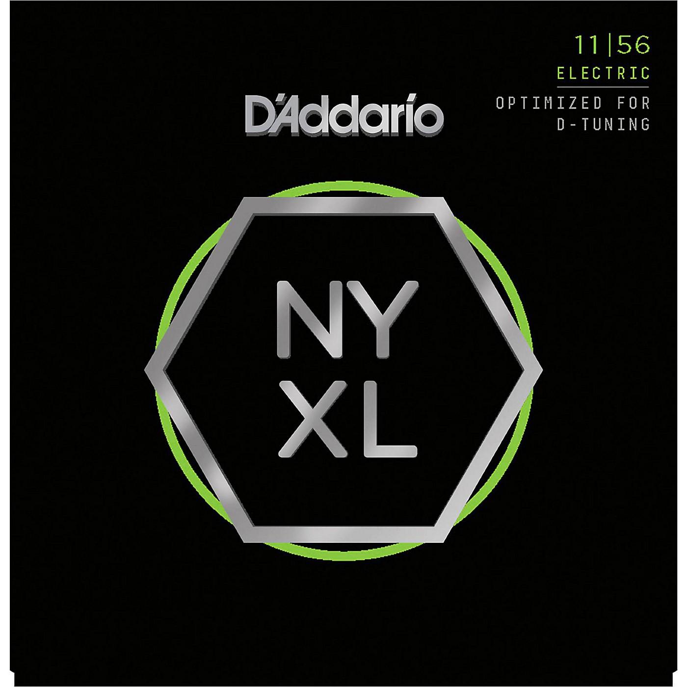 D'Addario NYXL1156 Medium Top/Extra Heavy Bottom Electric Guitar Strings thumbnail