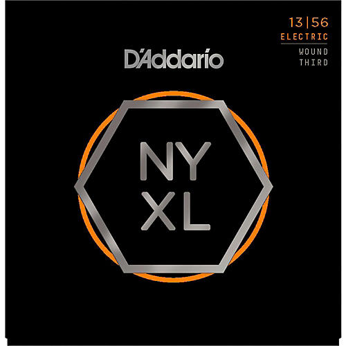 D'Addario NYXL1356W Medium Electric Guitar Strings thumbnail