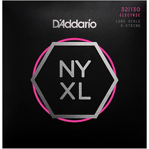 D'Addario NYXL32130 Gauge 6-String Long Scale Electric Bass Strings thumbnail
