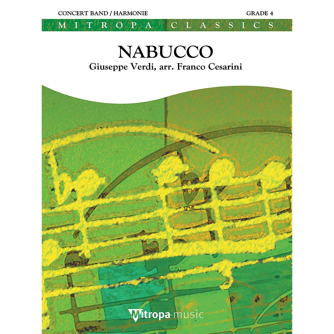 Mitropa Music Nabucco (Overture) Concert Band Level 4 Arranged by Franco Cesarini thumbnail