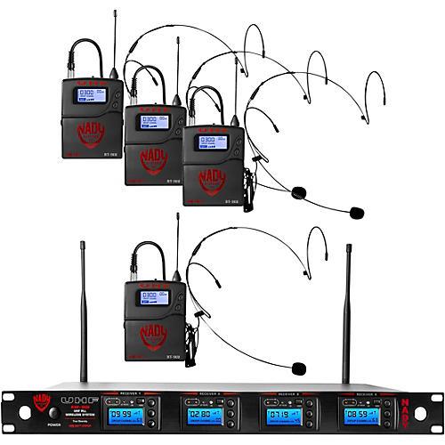 Nady Nady 4W-1KU-HM10 Beige, 1000-channel Headset Wireless System thumbnail