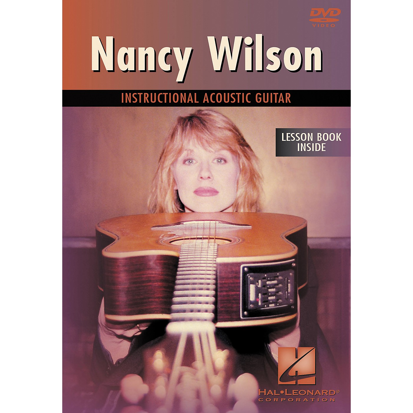 Hal Leonard Nancy Wilson Instructional Acoustic Guitar DVD with Tab thumbnail