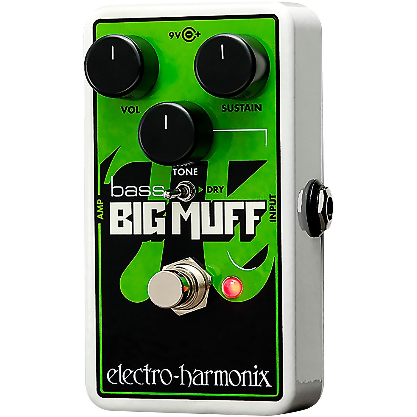 Electro-Harmonix Nano Bass Big Muff Distortion Bass Effects Pedal thumbnail