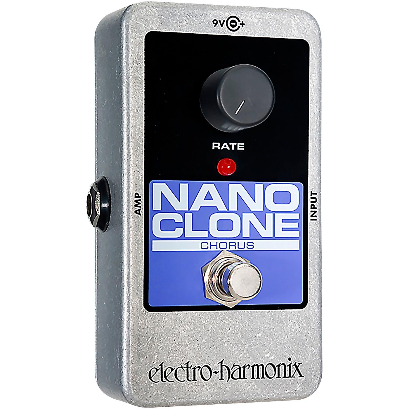 Electro-Harmonix Nano Clone Chorus Guitar Effects Pedal thumbnail