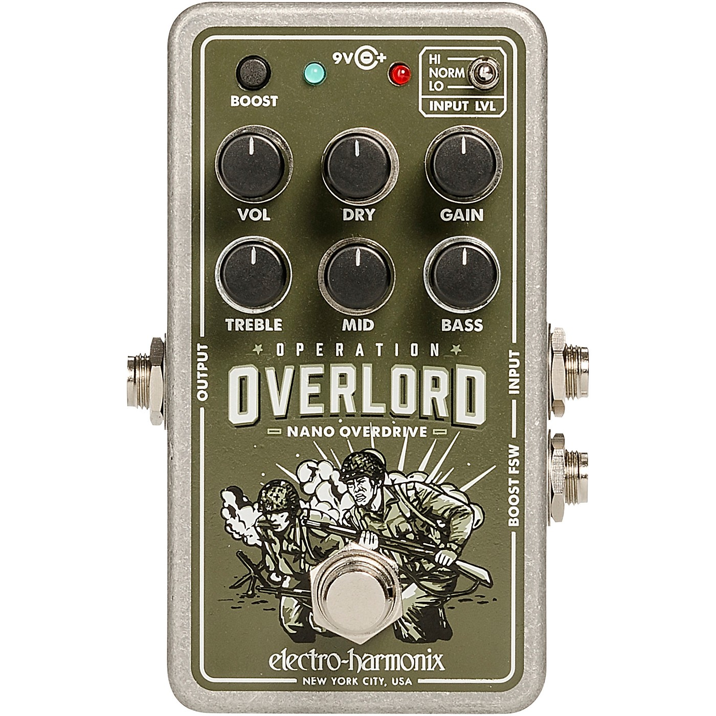 Electro-Harmonix Nano Operation Overlord Overdrive/Distortion Pedal thumbnail