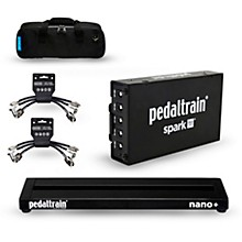 Pedaltrain Nano Plus Pedalboard Bundle with Spark Power Supply, Cables and Bag