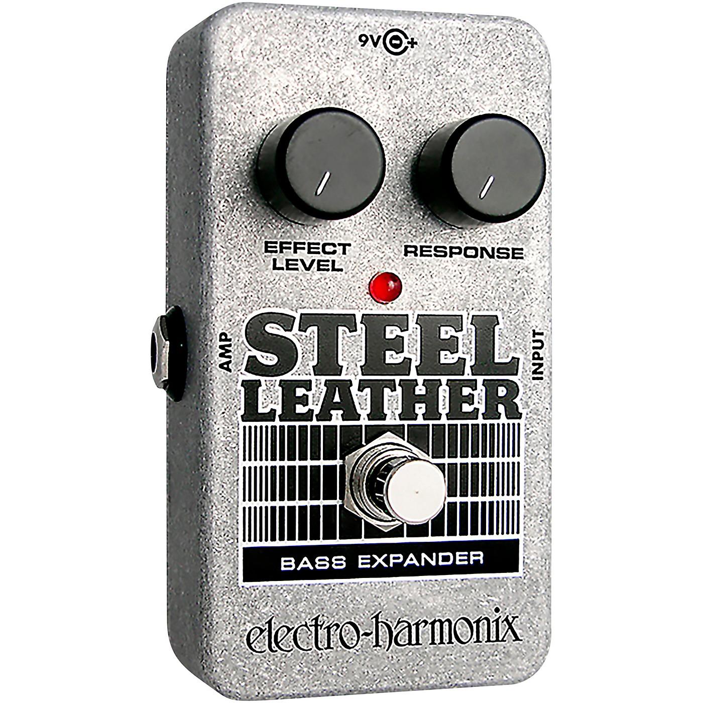 Electro-Harmonix Nano Steel Leather Bass Expander Effect Pedal thumbnail