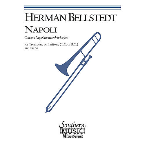 Southern Napoli (Trombone) Southern Music Series Arranged by Frank Simon thumbnail