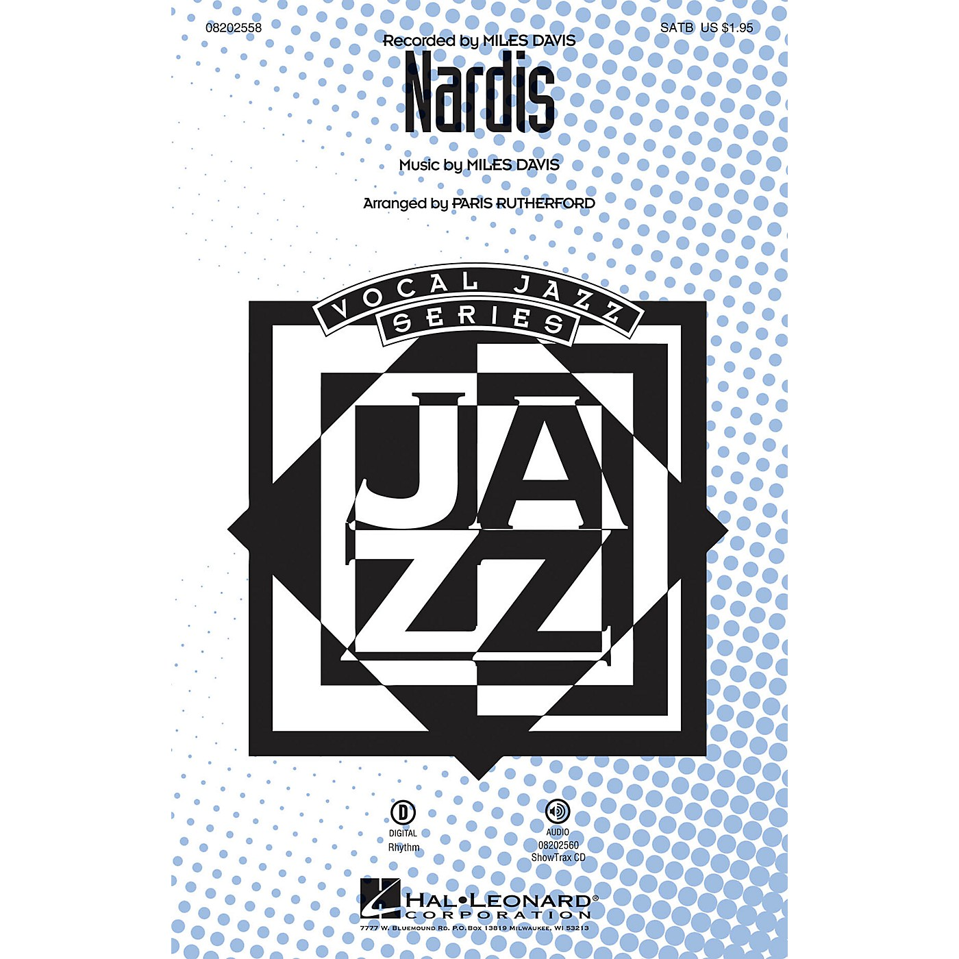 Hal Leonard Nardis SATB by Miles Davis arranged by Paris Rutherford thumbnail