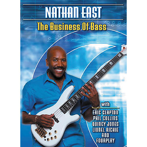 Hal Leonard Nathan East The Business Of Bass (DVD) thumbnail