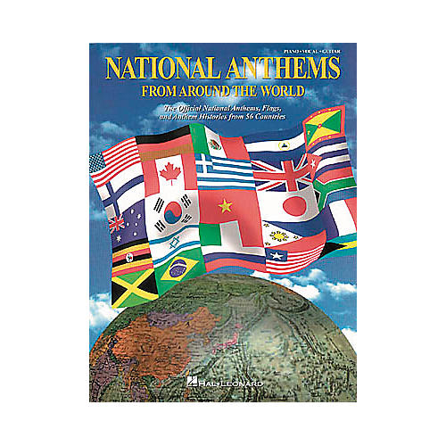 National Anthems Piano, Vocal, Guitar Songbook - WWBW