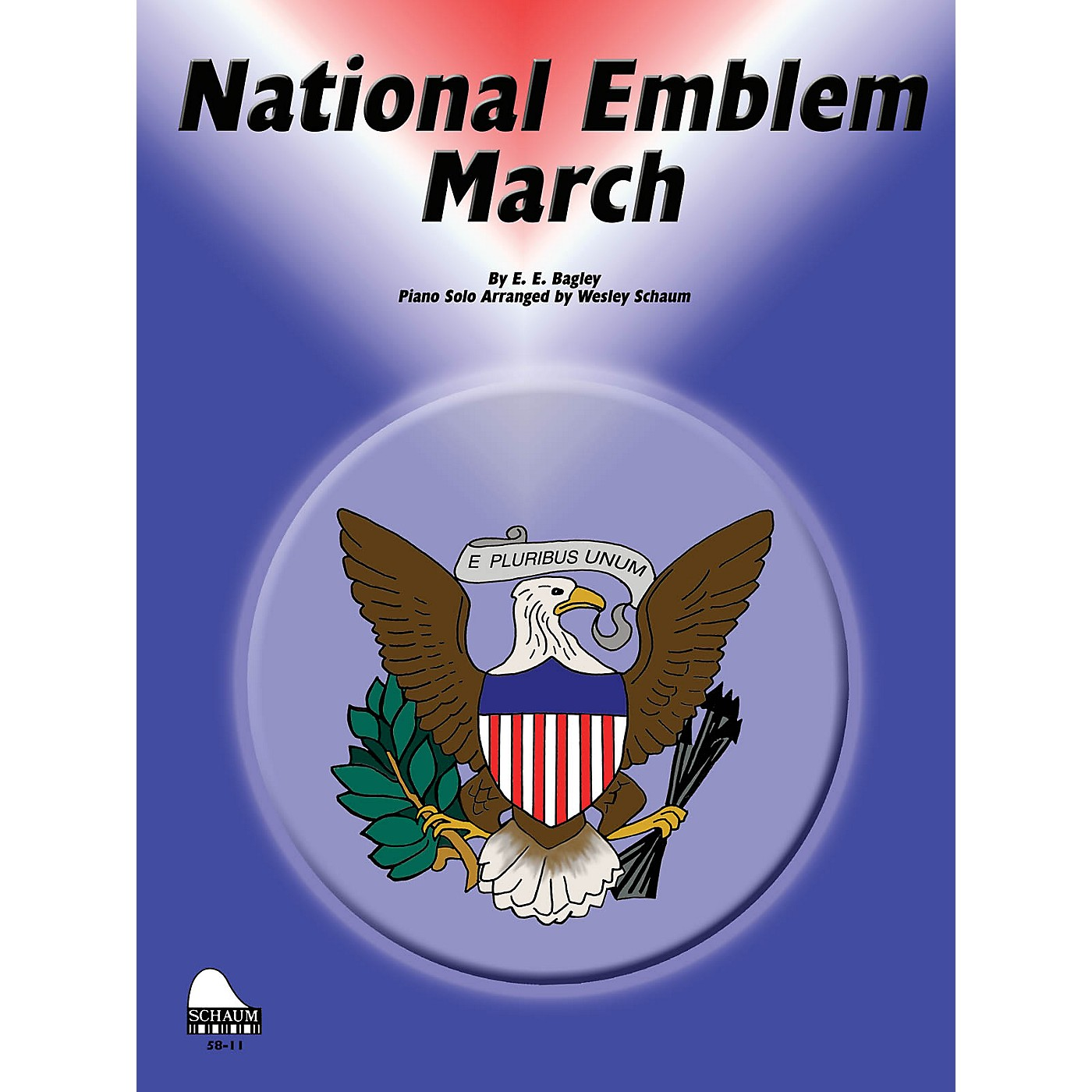 SCHAUM National Emblem March Educational Piano Series Softcover thumbnail