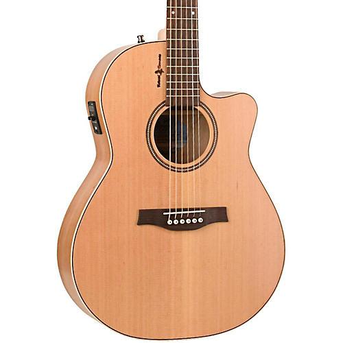 Seagull Natural Cherry CW Folk SG Acoustic-Electric Guitar-thumbnail