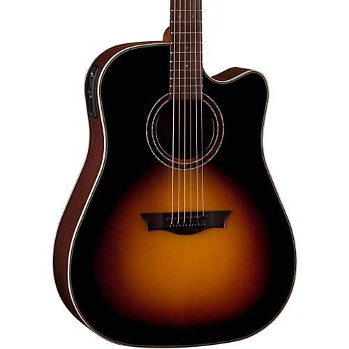 Dean Natural Series Dreadnought Cutaway Acoustic-Electric Guitar thumbnail