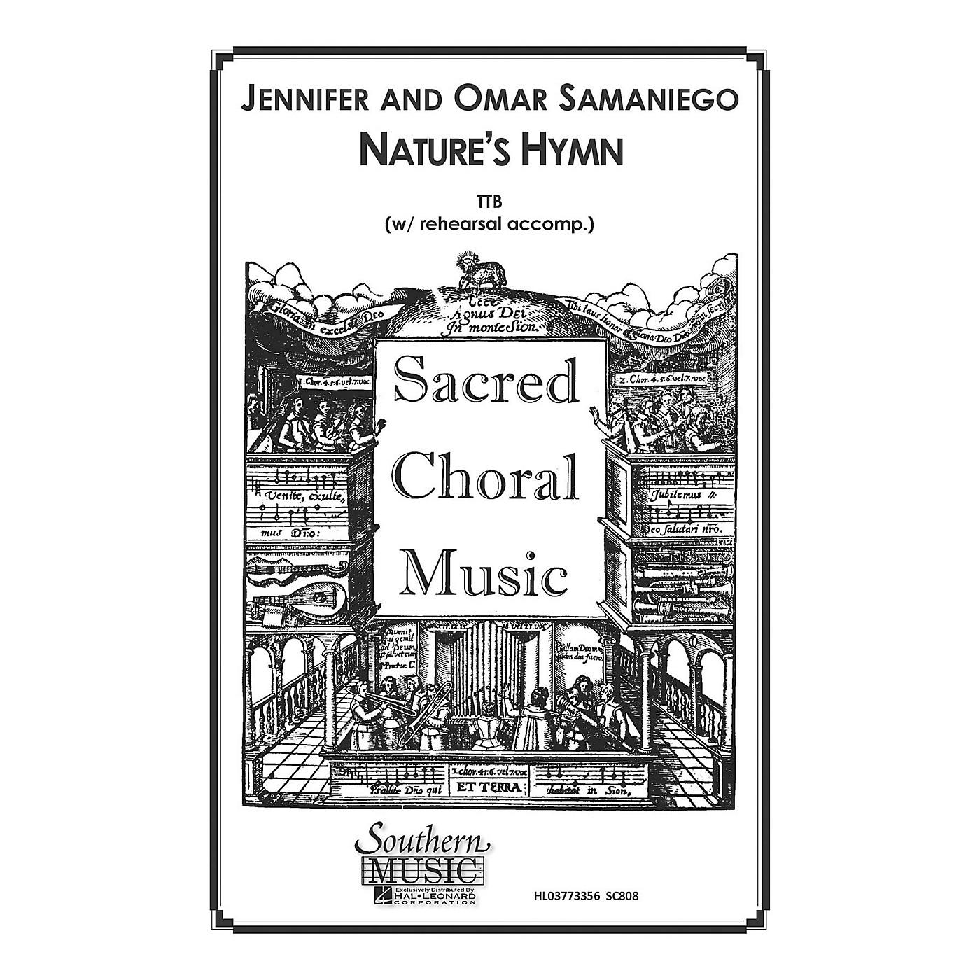 Hal Leonard Nature's Hymn (Choral Music/Octavo Sacred Ttb) TTB Composed by Samaniego, Omar thumbnail