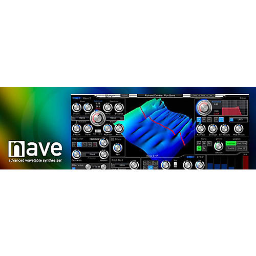 Waldorf Nave Advanced WaveTable Synthesizer thumbnail
