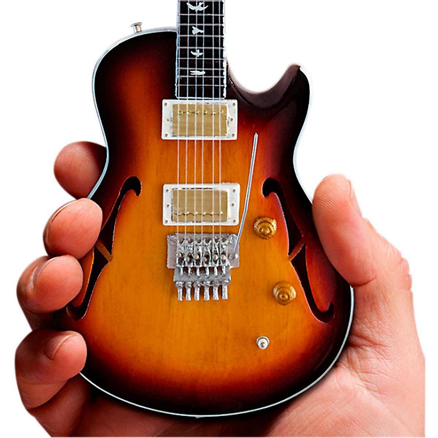 Axe Heaven Neal Schon Sunburst NS-15 PRS Miniature Guitar Replica Collectible thumbnail