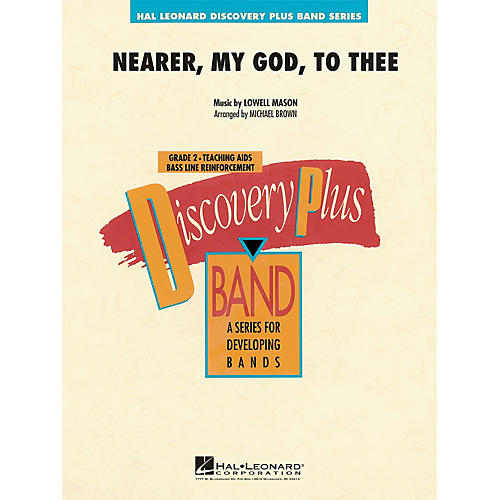 Hal Leonard Nearer, My God, to Thee - Discovery Plus Concert Band Series Level 2 arranged by Michael Brown thumbnail