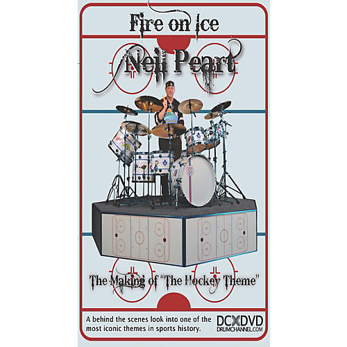 The Drum Channel Neil Peart - Fire on Ice, The Making of the Hockey Theme DVD thumbnail