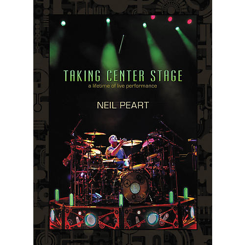 Hudson Music Neil Peart - Taking Center Stage 3-DVD Set thumbnail