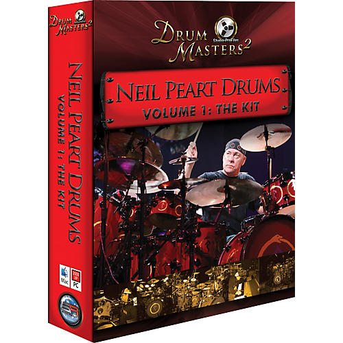 Sonic Reality Neil Peart Drums Vol 1: The Kit (BFD DVD) thumbnail