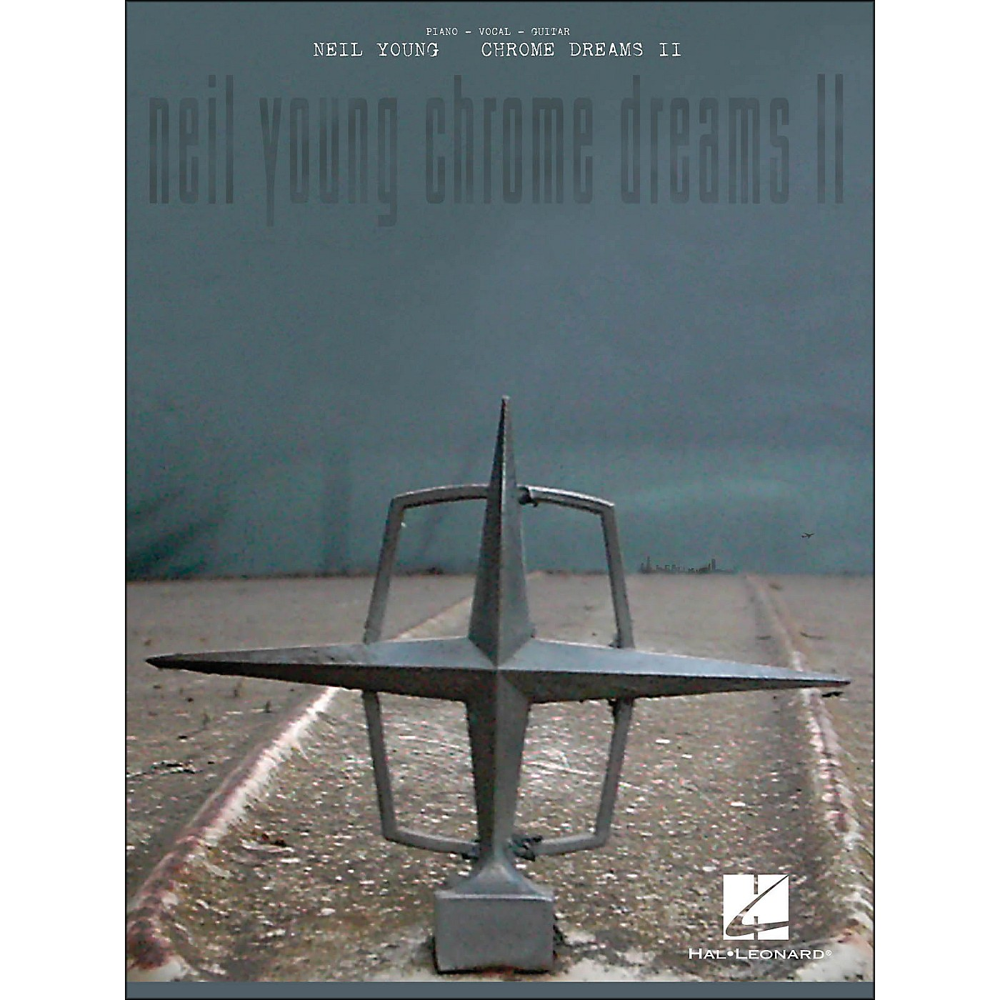Hal Leonard Neil Young - Chrome Dreams Ii arranged for piano, vocal, and guitar (P/V/G) thumbnail