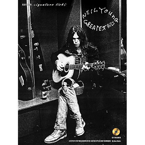 Hal Leonard Neil Young - Guitar Signature Licks Book/CD thumbnail