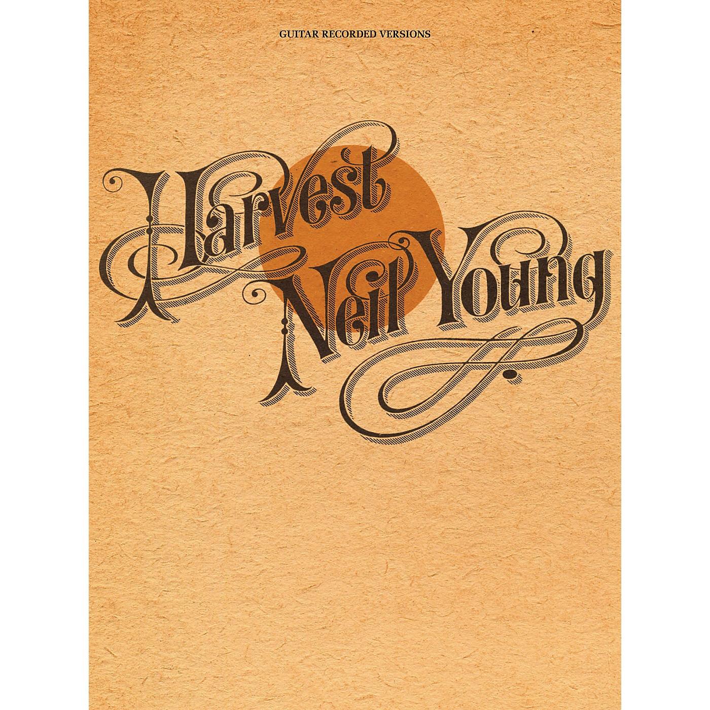 Hal Leonard Neil Young - Harvest Guitar Tab Songbook thumbnail