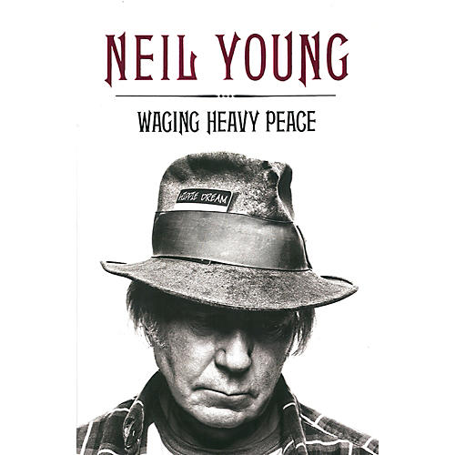 Penguin Books Neil Young - Waging Heavy Peace Hardcover Book thumbnail