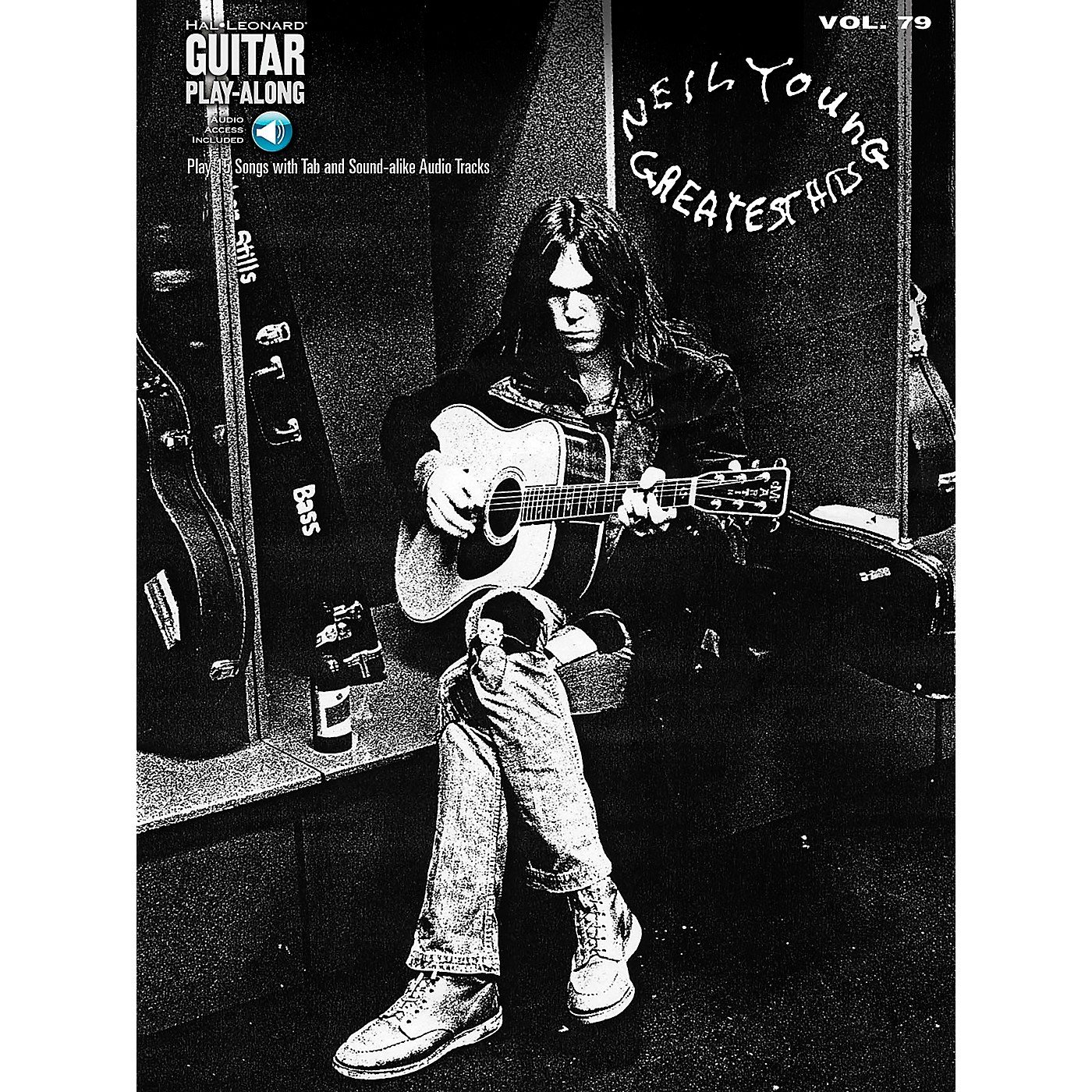 Hal Leonard Neil Young Greatest Hits - Guitar Play-Along Volume 79 Book/Online Audio thumbnail
