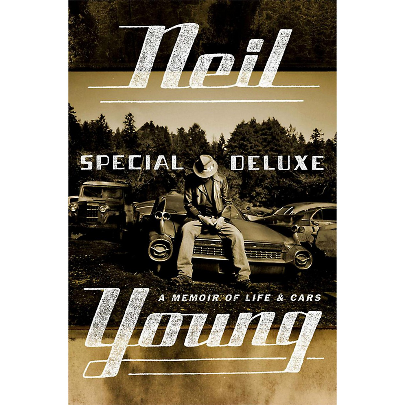Penguin Books Neil Young: Special Deluxe Hardcover Book thumbnail