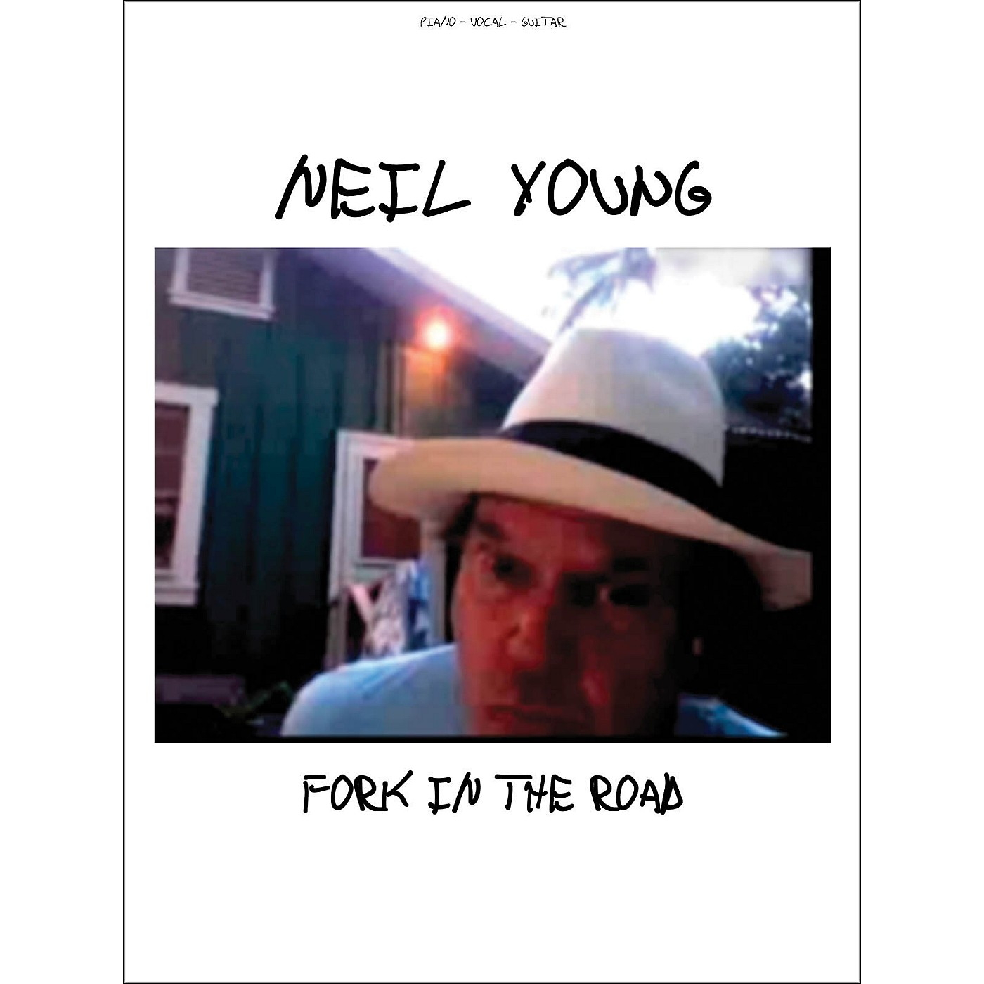 Hal Leonard Neil Young fork In The Road arranged for piano, vocal, and guitar (P/V/G) thumbnail