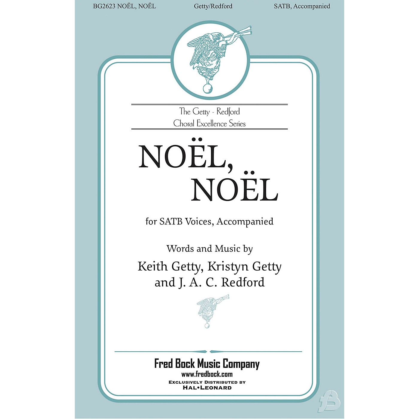 Fred Bock Music Nöel, Nöel Accompaniment CD by Keith Getty Arranged by J.A.C. Redford thumbnail
