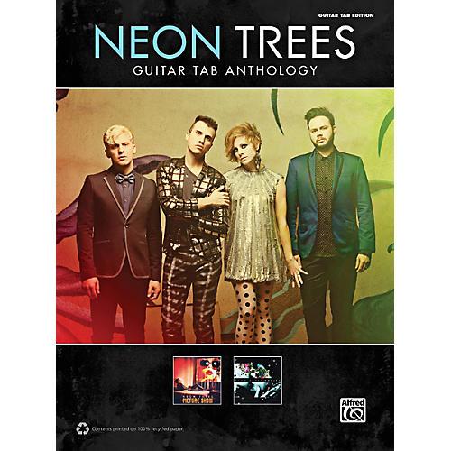 Alfred Neon Trees Anthology Guitar TAB Book thumbnail