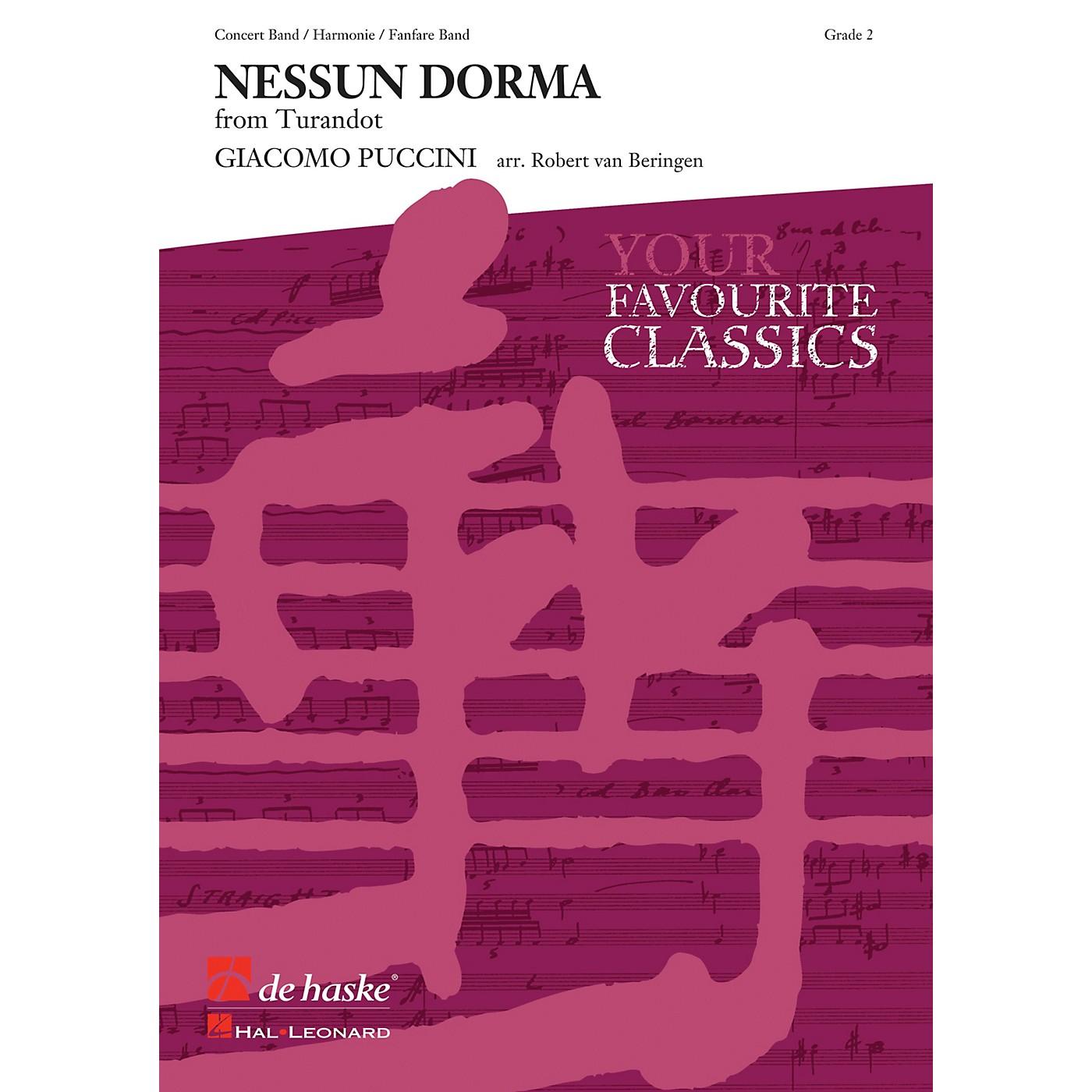 Hal Leonard Nessun Dorma Score Only Concert Band thumbnail