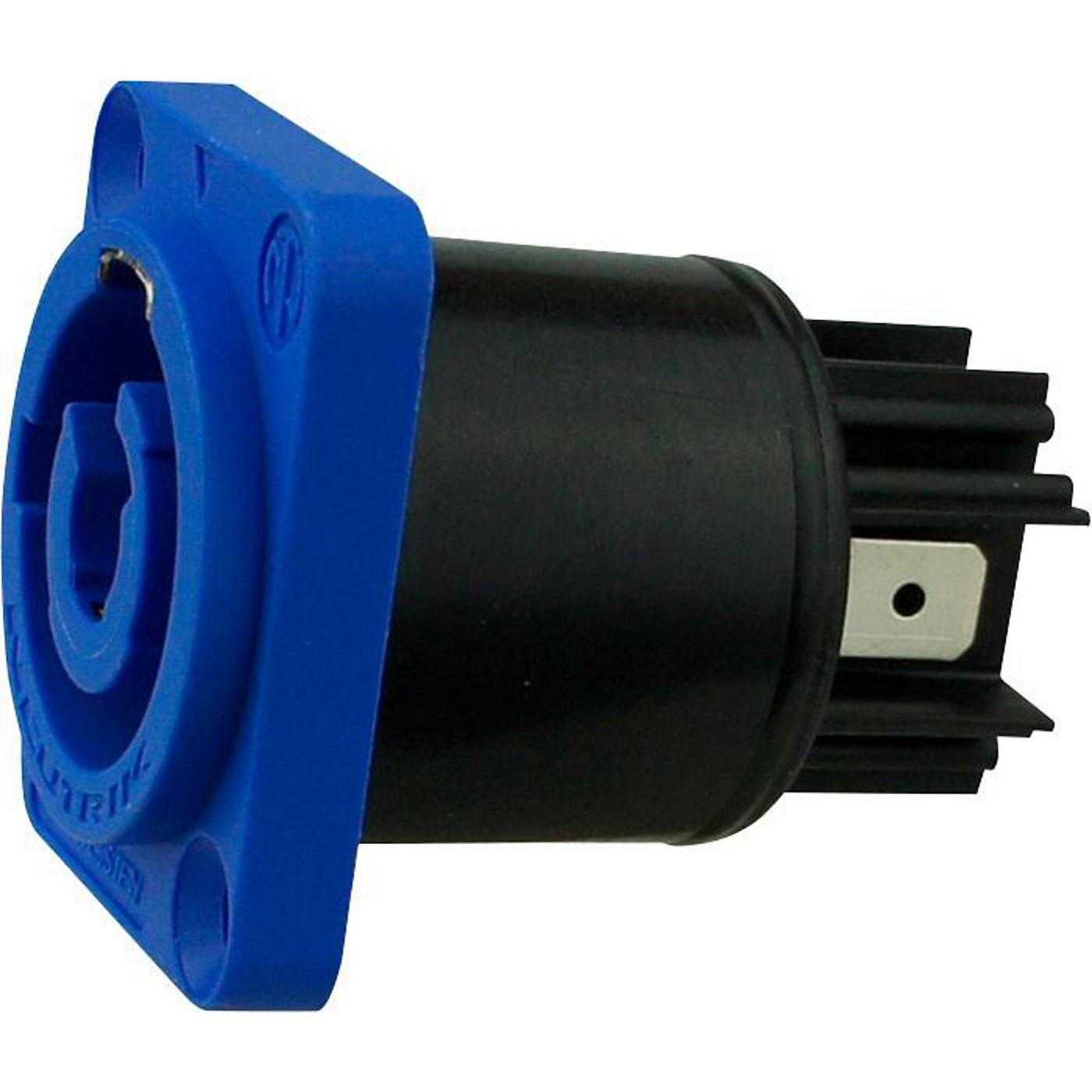 Rapco Neutrik PowerCON Power In Blue Panel Mt thumbnail