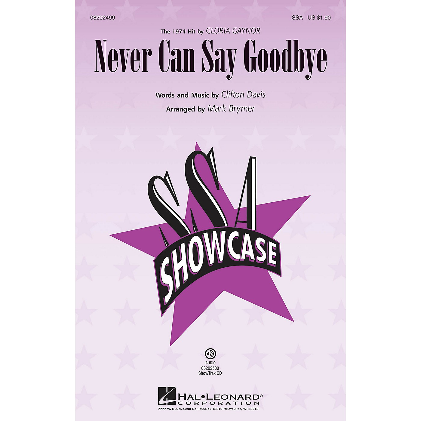 Hal Leonard Never Can Say Goodbye SSA by Gloria Gaynor arranged by Mark Brymer thumbnail