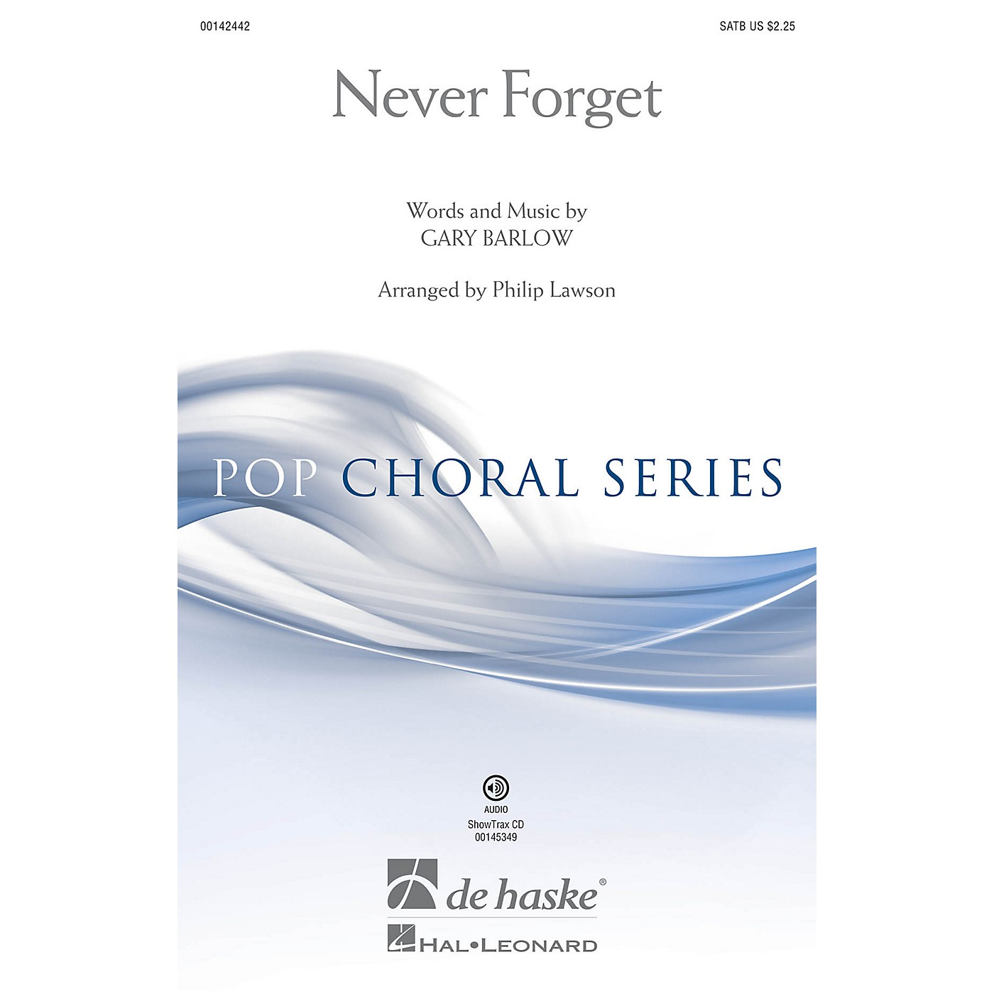 De Haske Music Never Forget SATB arranged by Philip Lawson thumbnail