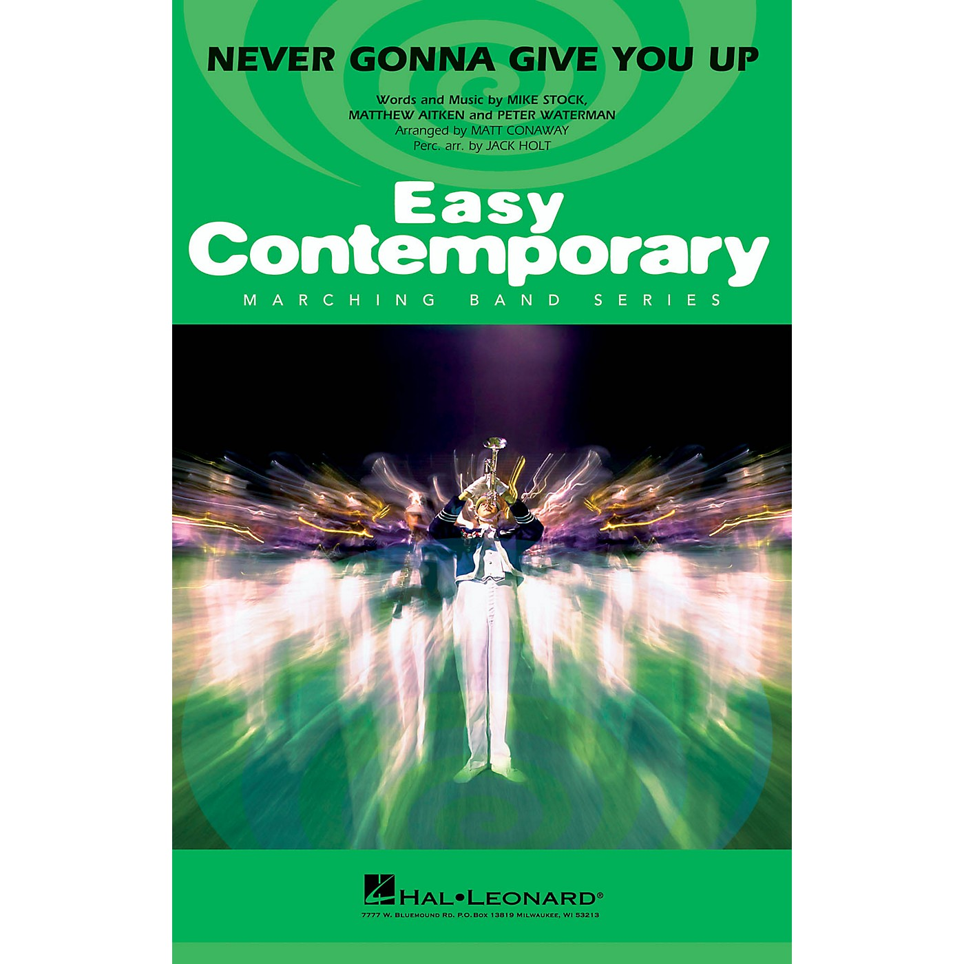Hal Leonard Never Gonna Give You Up Marching Band Level 2-3 by Rick Astley Arranged by Matt Conaway thumbnail