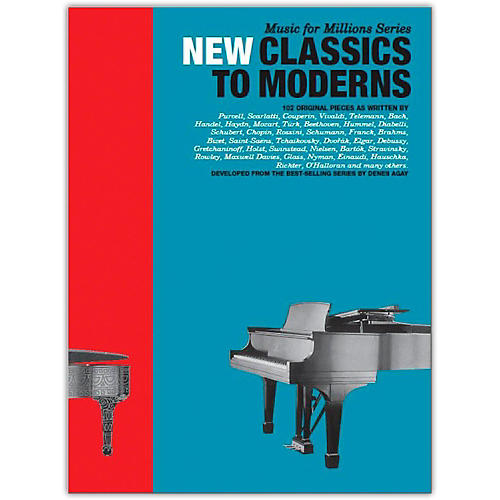 Music Sales New Classics To Moderns: 102 Original Pieces for Piano thumbnail