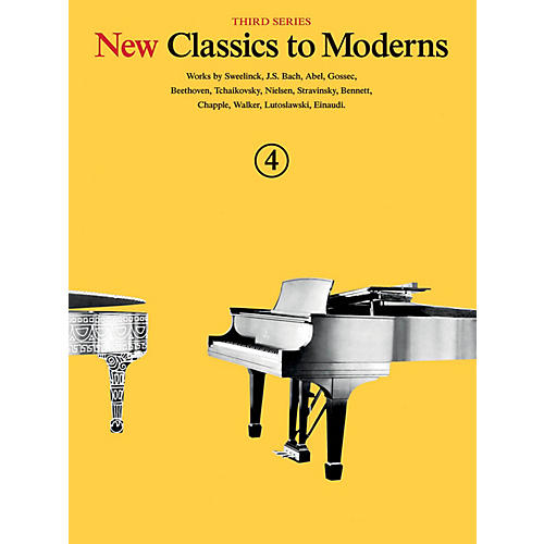 Music Sales New Classics to Moderns - Third Series (Book 4) Music Sales America Series Softcover thumbnail